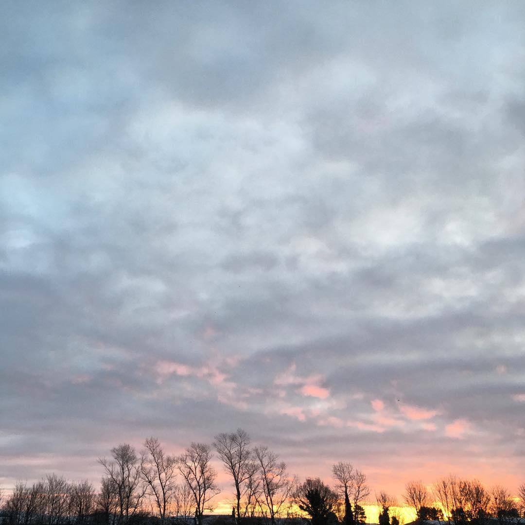 Red sky in the morning, shepherds warning.