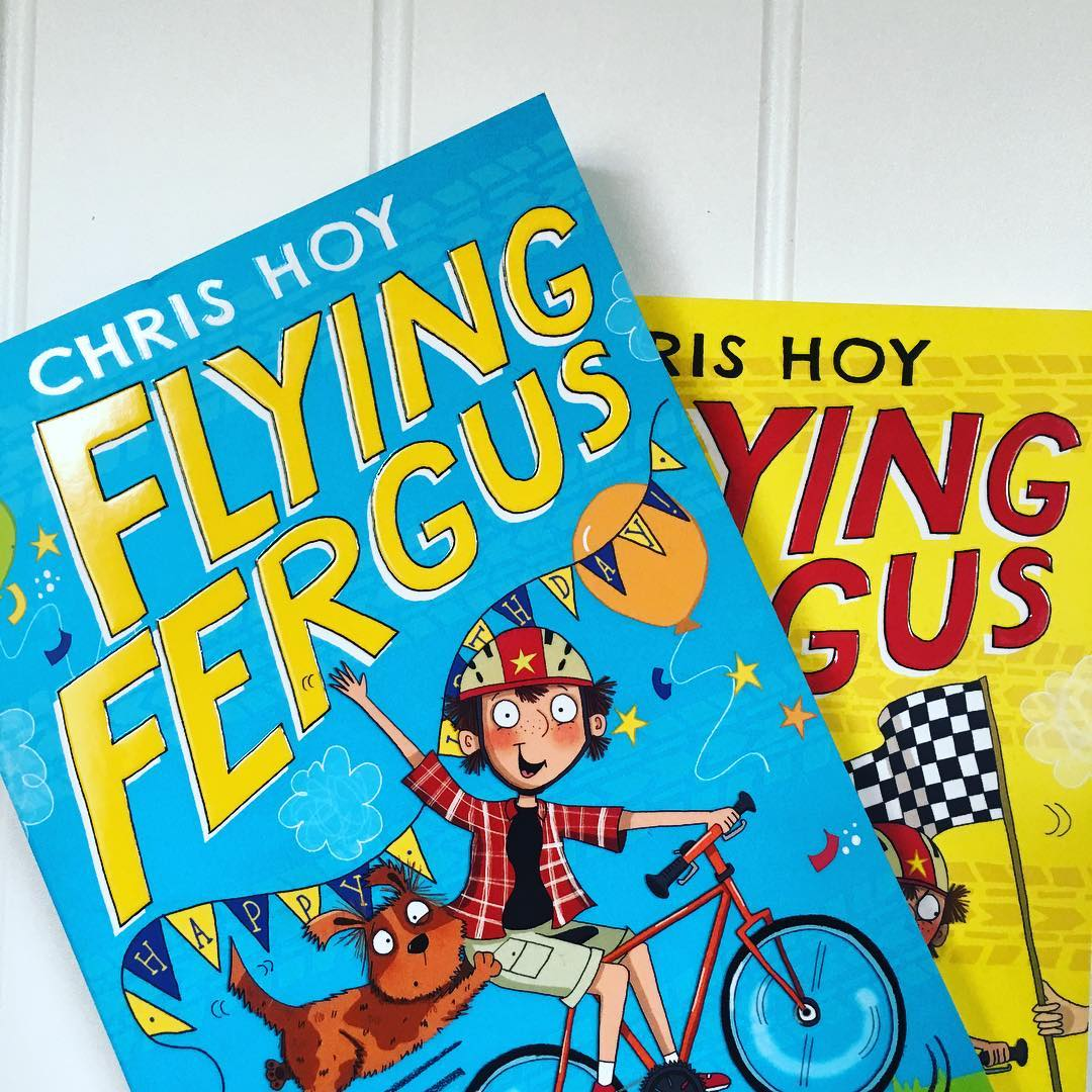 New books for Todd. Flying Fergus by Sir Chris Hoy @chrishoy1