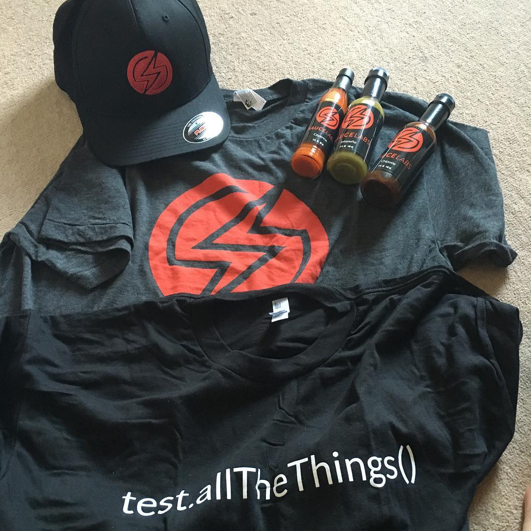 Arrive home to some awesome swag from the guys at