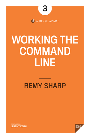Book Cover for Working the command line