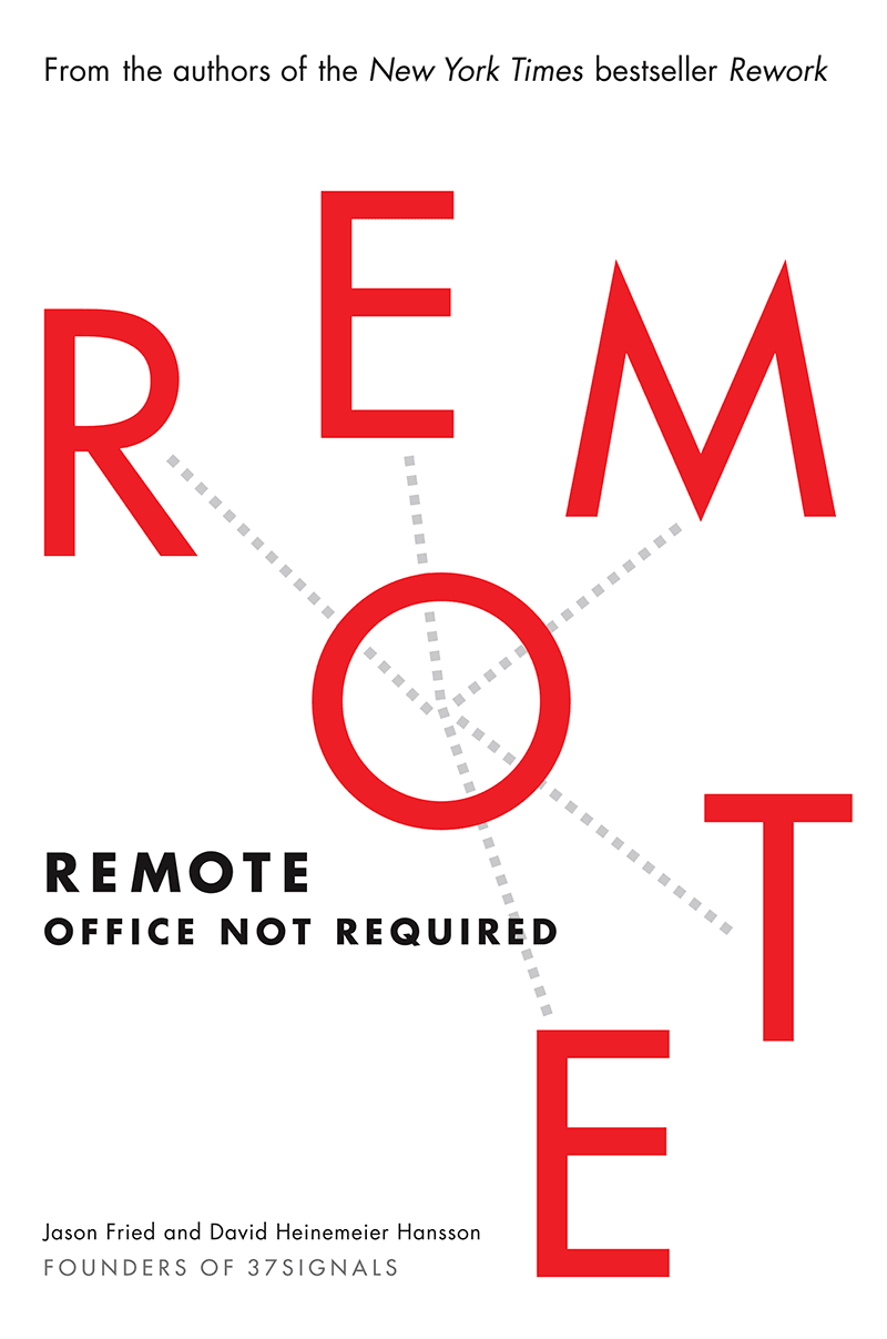 Book Cover for Remote: Office Not Required