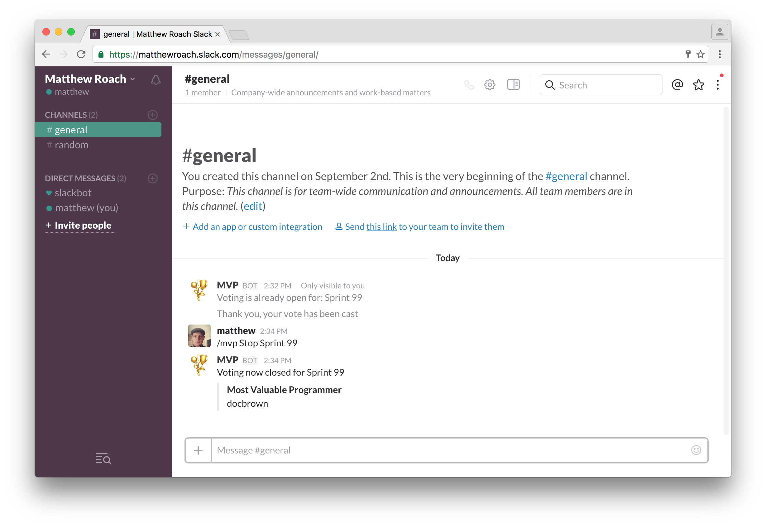 Slack command with API Gateway and AWS Lambda | Matthew Roach